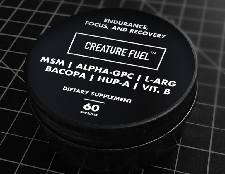 CREATURE FUEL - 60 COUNT